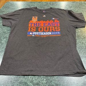 "New York Mets ""The East Is Ours"" PostSeason Tee XL"